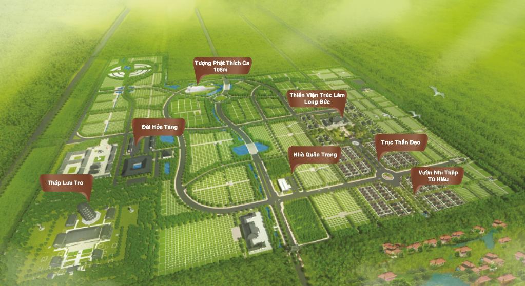 Tổng dự án công viên Vĩnh Hằng Long Thành