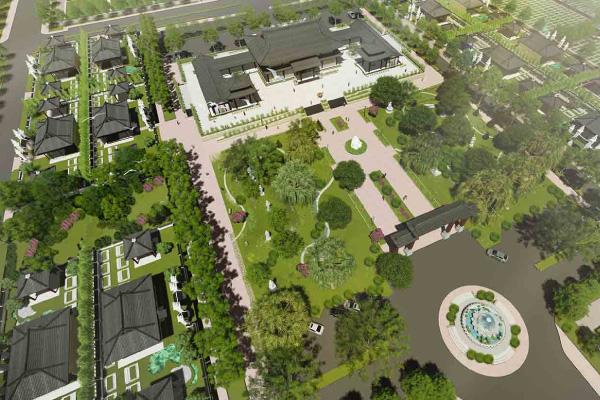 Báo Dân Trí: Ngôi chùa 2 hecta được hiến tặng cho Thiền Phái Trúc Lâm tỉnh Đồng Nai