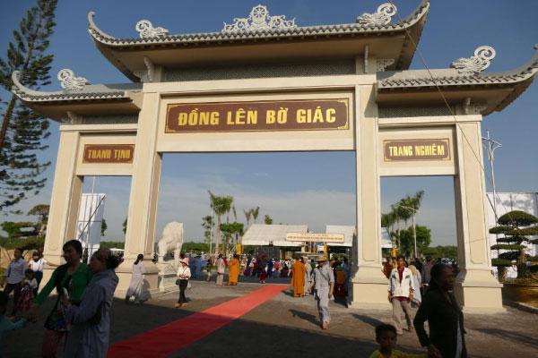 Lễ an vị và hoàn thiện công trình Công viên Vĩnh Hằng Long Thành