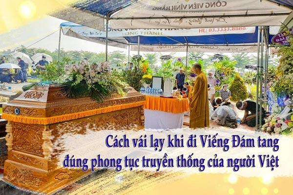Cách vái lạy khi đi Viếng Đám tang đúng phong tục truyền thống của người Việt