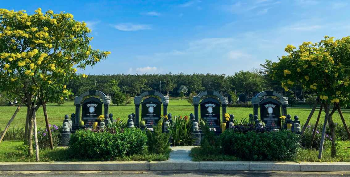 Giới thiệu mẫu mộ cải táng tại Công Viên Vĩnh Hằng Long Thành