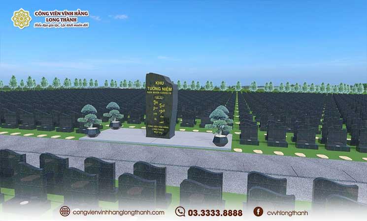 Hữu sự an yên, vẹn tròn tại Khu tưởng niệm nạn nhân Covid-19