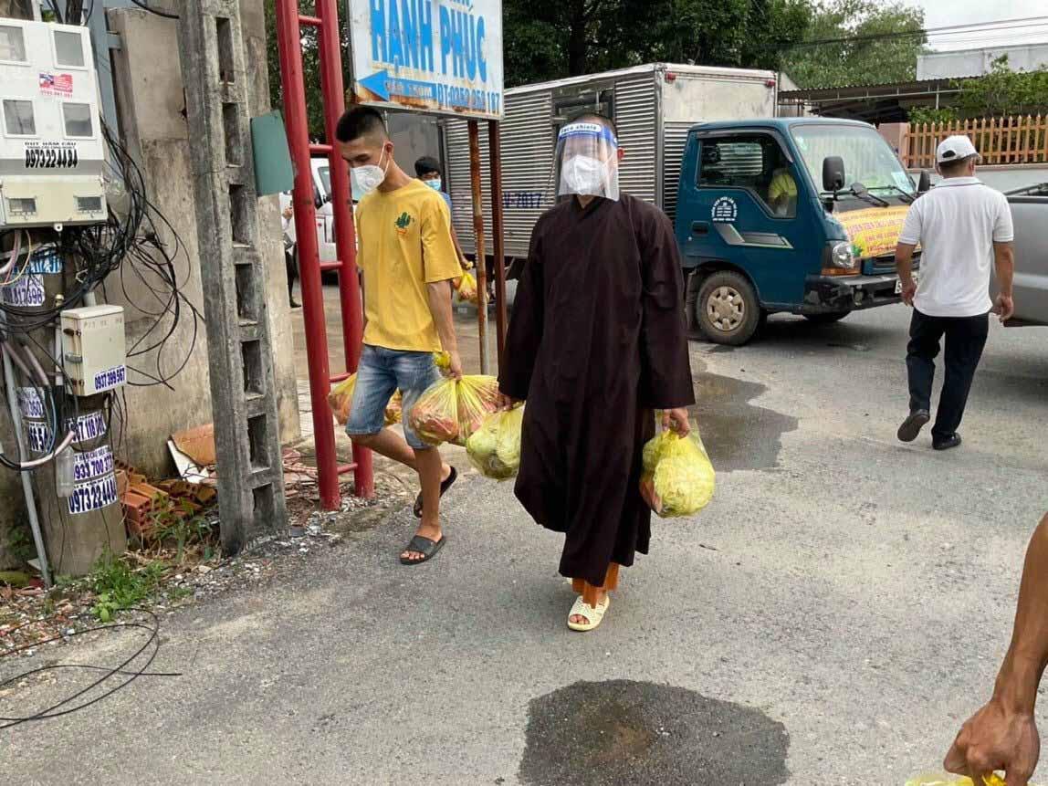 Thiền Viện Trúc Lâm Long Đức  nhật ký hành trình mùa Covid-19 chiều ngày 14/9/2021
